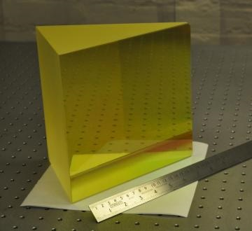 Precision Prisms Supplied for Habitable Planet Research