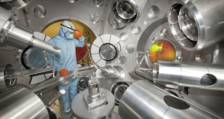Challenging Aspheric Lenses for Nuclear Research